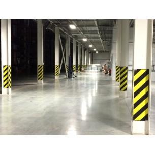 Сигнальная флуоресцентная краска для бетона