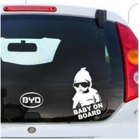 Светоотражающая наклейка «ребенок в машине»