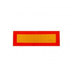 Металлическая светоотражающая табличка для задних габаритов