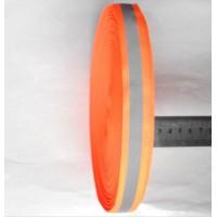 Светоотражающая тканевая лента шириной 2.5 см на 100 м
