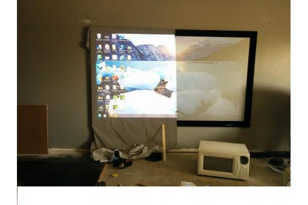 Купить светоотражающую ткань для экрана 1 кв.м