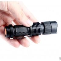 Мощный ультрафиолетовый фонарик 395 nm
